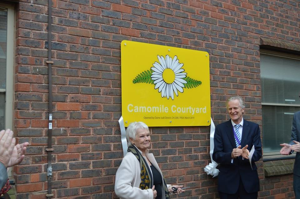 Dame Judi Dench Opens Dementia-friendly Courtyard