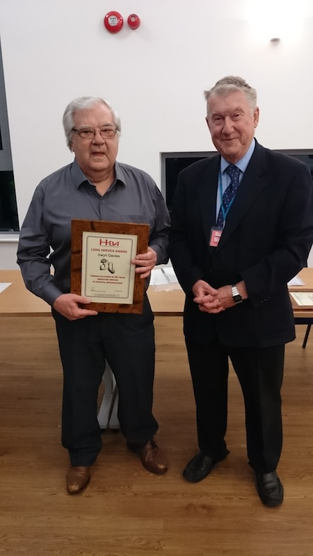 Radio Redhill celebrates long-service achievements