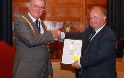 Dave King Receives Long Service Award