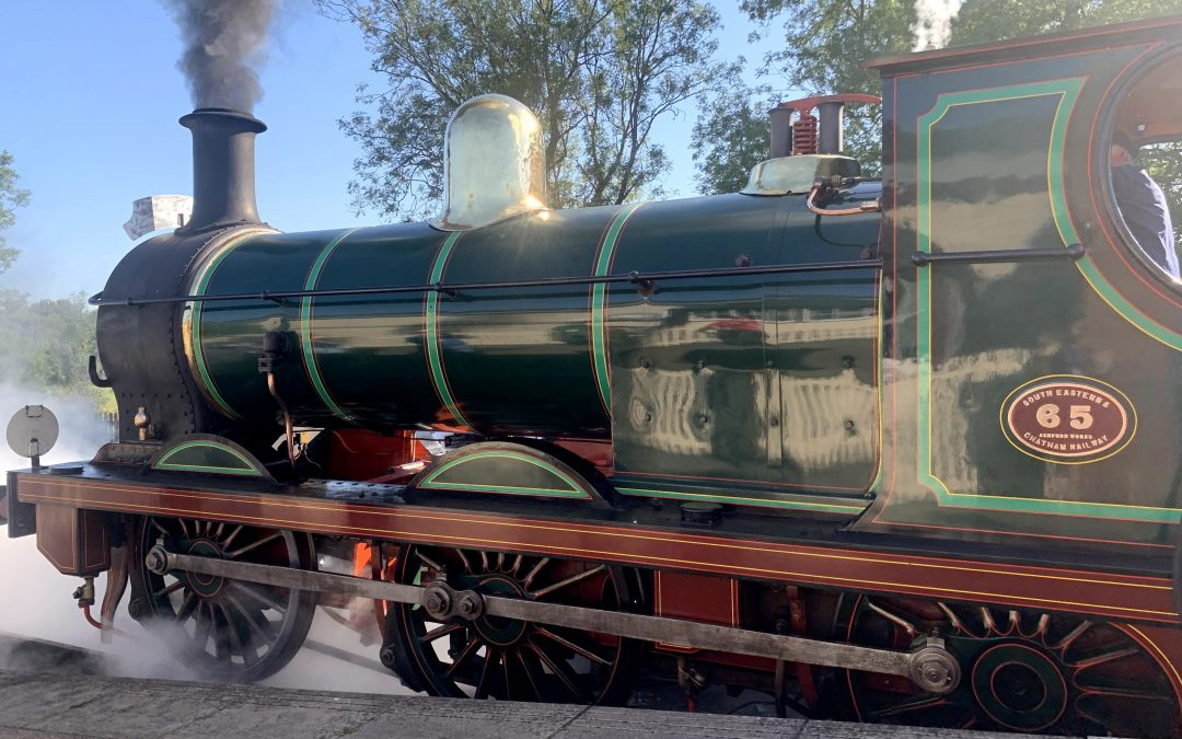 Steaming Through 60 with the Bluebell Railway