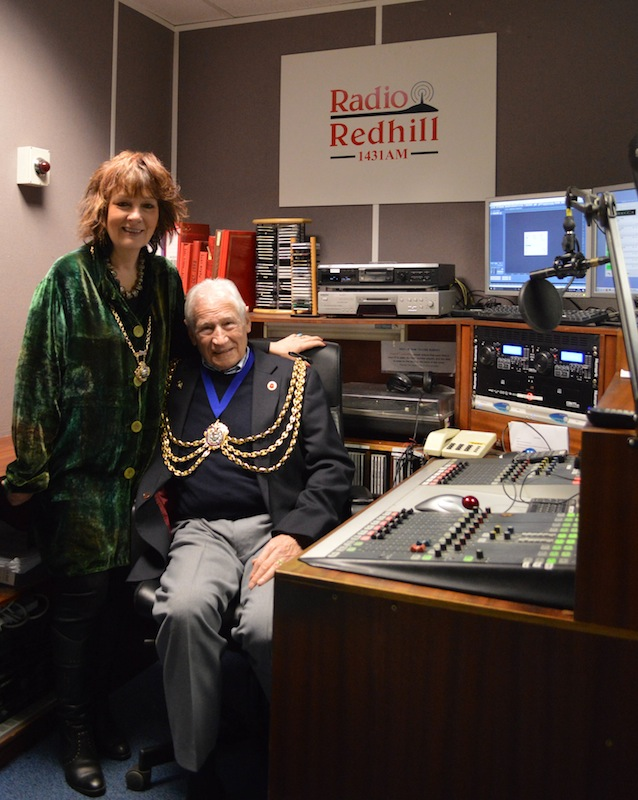 Radio Redhill meets the Mayor