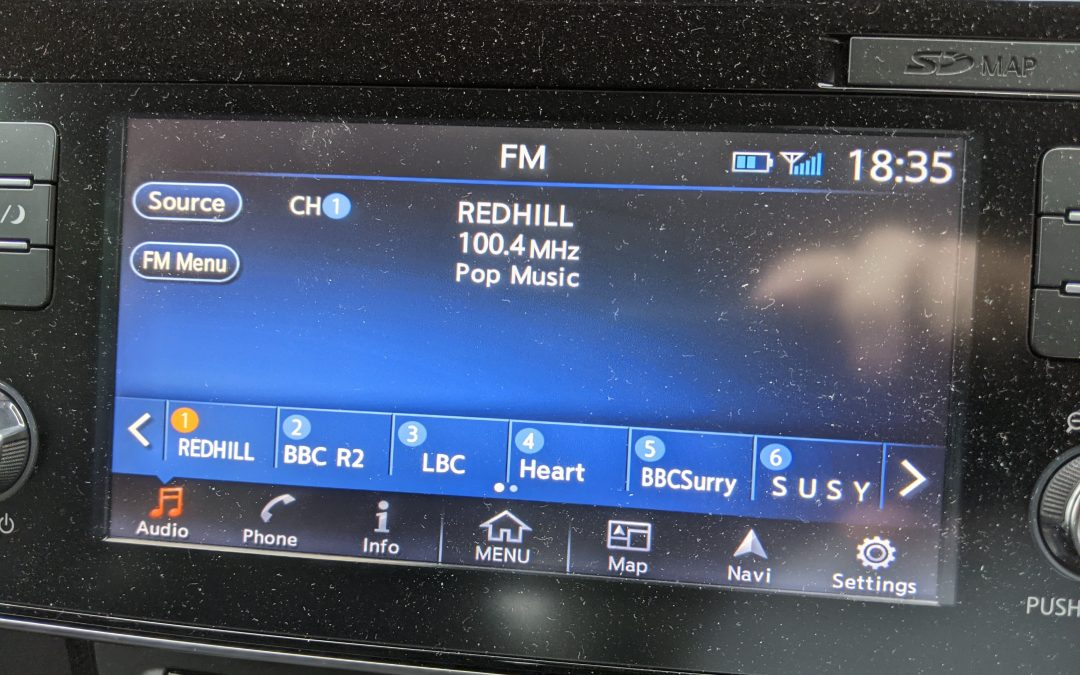Radio Redhill now on FM
