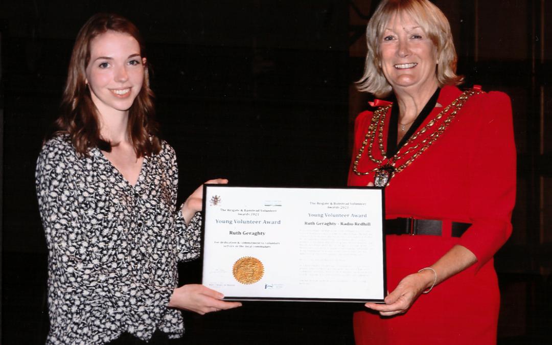 Ruth Geraghty Wins Mayor's Award