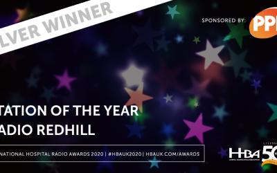 Radio Redhill Wins Silver