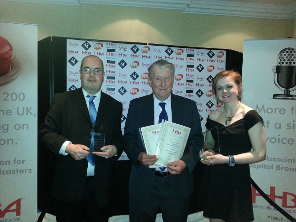 Radio Redhill wins Silver and Bronze at HBA Awards.