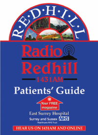 Cover of Patient's Guide Radio Redhill