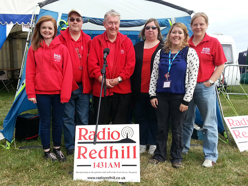 Radio Redhill at a show