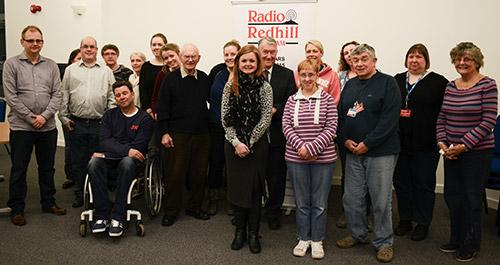 Radio Redhill staff