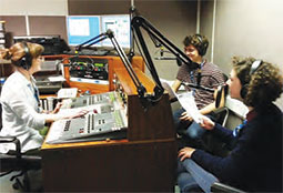 Radio Redhill studio